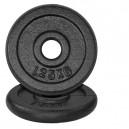 """משקולות צלחת ברזל קוטר 30 מ""""מ במגוון משקלים"""