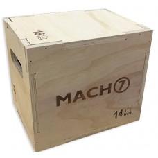"""קופסת קפיצה מעץ מלא 30*35*40 ס""""מ"""