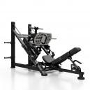 מתקן משקל חופשי מקצועי לחיצת רגליים MF-U001 צבע בורדו