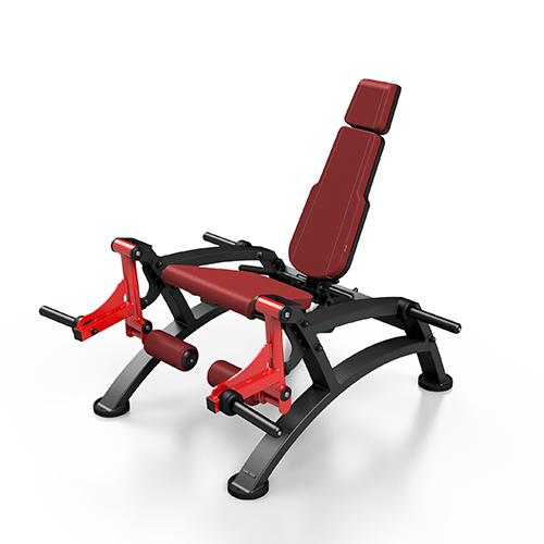 מתקן משקל חופשי מקצועי לפשיטת ברך MF-U011 צבע בורדו