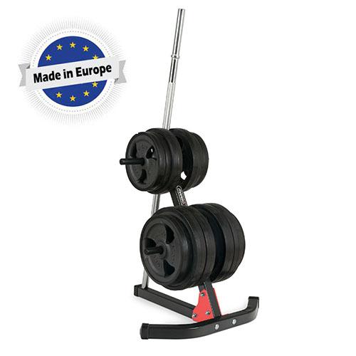 מעמד לצלחות ומוט משקולות Marbo sport דגם MH-S206