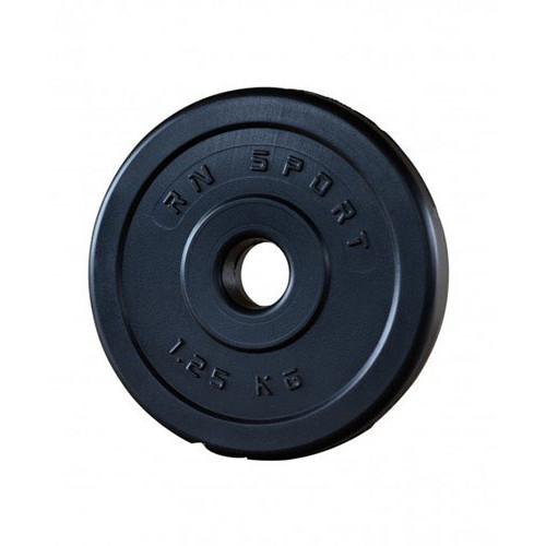 """צלחת משקולות עם ציפוי ABS עמיד בפני זעזועים 1.25 ק""""ג"""