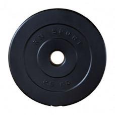 """צלחת משקולות עם ציפוי ABS עמיד בפני זעזועים 2.5 ק""""ג"""