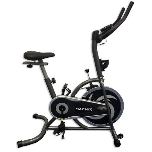 """אופני ספינינג חברת MACH 7 גלגל תנופה 13 ק""""ג עם צג דיגיטלי"""