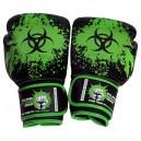 כפפות איגרוף מקצועיות מעור אמיתי Biohazard