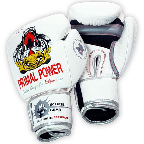 כפפות איגרוף מקצועיות מעור אמיתי Primal Power