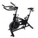"""אופני ספינינג עם גלגל תנופה 18 ק""""ג וצג דיגיטלי"""