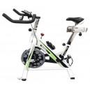 """אופני ספינינג עם גלגל תנופה 22 ק""""ג וצג דיגיטלי"""